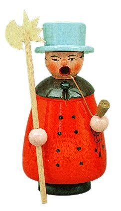 Smoker night watchman red 12cm