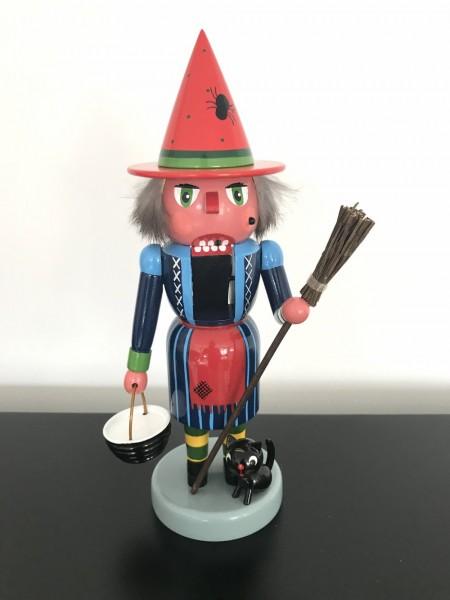 Erzgebirge nutcracker witch 11.02 inch