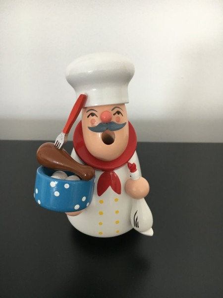 incense man cook with goose 12,5cm