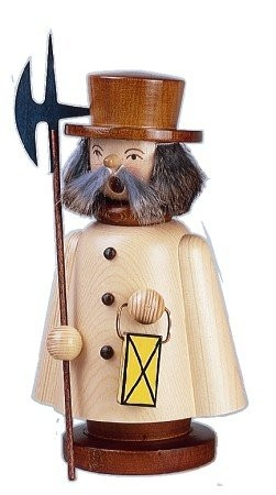 Smoker night watchman stained 13cm